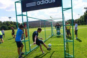 футбольный аттракцион - вратарь