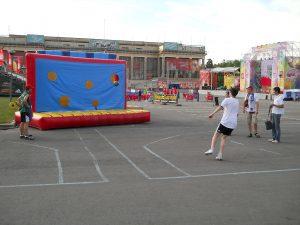 футбольный аттракцион - Точный гол