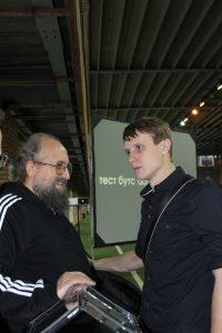 Анатолий Вассерман в гостях у Footballfest