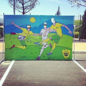 футбольное мероприятие - Анжи Махачкала