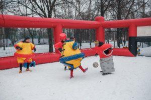 футбольный аттракцион Сумобол