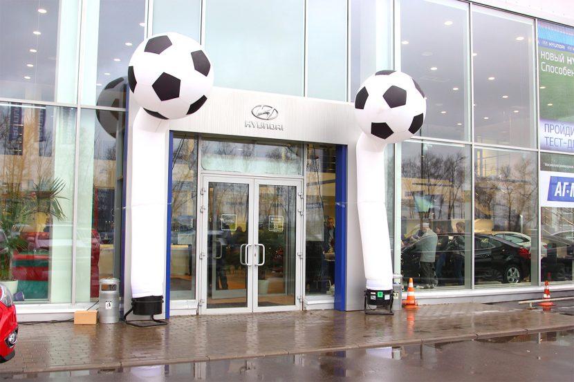 Аэромены футбольные - продажа и аренда аттракционов