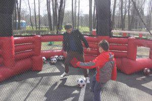 футбольный аттракцион Тетрафутбол