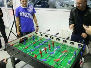 футбольный аттракцион Настольный футбол