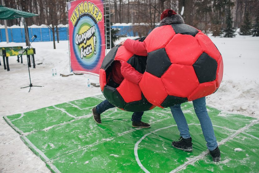 аттракцион Футбольное сумо мягкое - аренда, продажа