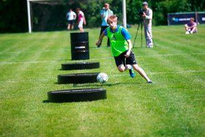футбольный аттракцион Платформы для дриблинга