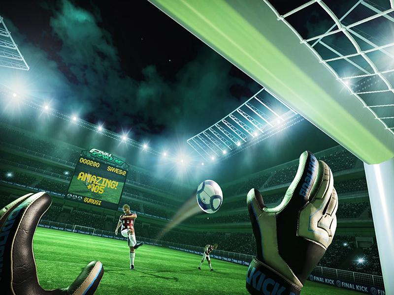 Виртуальный футбол - футбольный аттракцион