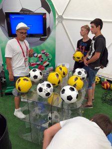 3D-футбол - аренда футбольных аттракционов